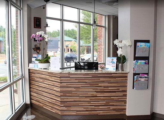 Dental Office Front Desk, Morrisville, NC - Optimum Dental